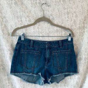 BCBGMaxAsria Denim Shorts